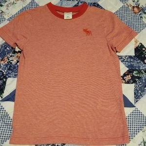 Boys Abercrombie Kids Red Shirt Size M (12)